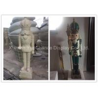 Fiberglass Soldier H120cm Shop Display Christmas Decorations With Custom Color Manufactures