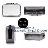 Holographic Makeup Bag, Metallic color Fashion Cosmetic Travel Bag Large