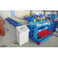 Partical Arc Roofing Rolling Glazed Tile Forming Machine For Corrugation Profile Manufactures