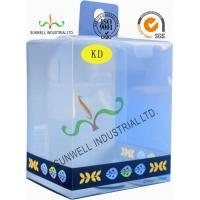 Small Clear Baby Skin Care Plastic Packaging Boxes With Hook Lids Luxury Manufactures
