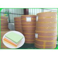 FSC Pure Wood Pulp Colored Green Offset Printing Paper Color Designated 70CM 100CM Manufactures