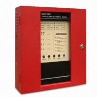 Control Panel Fire Alarm with 50Hz Frequency, 24V DC Battery Backup Connection and 4 to 16 Zones Manufactures