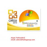 FPP Microsoft Office Product Activation Key , Office 2010 Professional Plus Key Manufactures