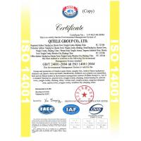 QITELE GROUP CO., LTD CHINA Certifications