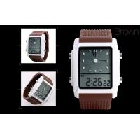 China LCD Analogue Watch , Women Dual Time Alarm Digital LCD Watches on sale