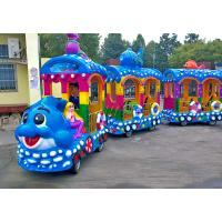 Amusement Park Tourist Train Rides Electric Ride On Train For Kids CE Approved Manufactures