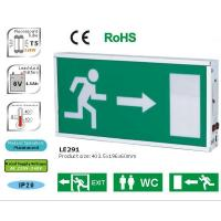 China LE291A: Rechargeable Emergency Exit Sign-2x8Watt., Maintained / Sustained on sale
