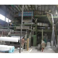 PP PE Geotextile Production Line High Strength For Geomembrane Protection Manufactures