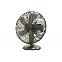 China 12 Electric Retro Table Fan Vintage 3 Speed Oscillating Oil Rubbed Bronze on sale