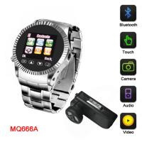 4GB mermory fashion mobile phone watch,mobile watch phone with bluetooth, Manufactures