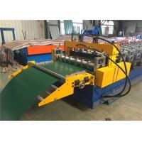 Electric Control Garage Door Roll Former , Rolling Shutter Roll Forming Machine  Manufactures