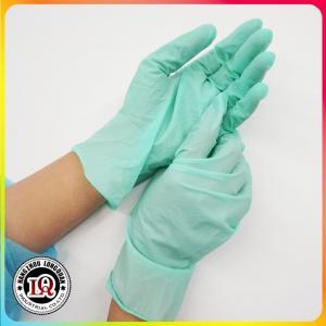 China Disposable latex examination glove malaysia on sale