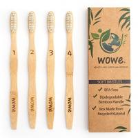 OEM Welcome Wholesale BPA Free Bristles Natural 100% household toothbrushBamboo Toothbrush household toothbrush Manufactures