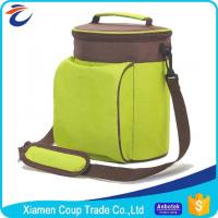 Recycle Insulated Cooler Bags Tough Thickened Fabric For Frozen Food Manufactures