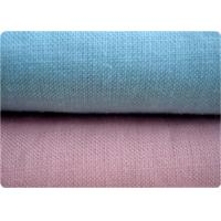 Blue / Pink 100% Ramie Fabric Home Furnishing Fabric 21* 21 52 *58 Manufactures