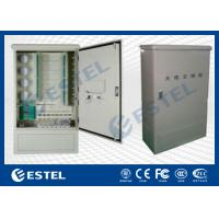 Wall Mounted Outdoor Distribution Box Optic Fiber Cross Connect Cabinets Manufactures
