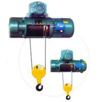 Transfer Cars Electric Wire Rope Hoists with Lifting Capacity 0.5~50ton CD, MD Type Manufactures