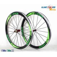 50mm Clincher Bicycle Aluminum Road Bike Wheels With Mrcarbon Logo Manufactures