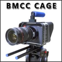 New lightweight camera cage rig for BMCC BLACKMAGIC CINEMA camera Fast Delivery Manufactures