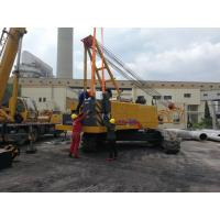 XCMG 50 Tons Small Crawler Crane Xgc55 With Hammer , Max. Rated Lifting Capacity 55T Manufactures