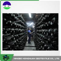 200G Black Woven Geotextile Filter Fabric Circle Loom 0°C - +150°C Temperature Range Manufactures