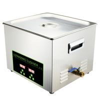 Lab Ultrasonic Dental Cleaning Machine Stainless Steel 15L Multiple Frequency Manufactures