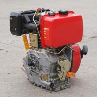 China Single cylinder air cooled 4 stroke 170f marine diesel engine with gear boxes on sale
