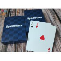 Embossing Custom Printed Playing Cards With 4C Printing In Customized Box Manufactures