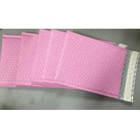 Custom Aluminum Foil Pink Metallic Bubble Envelope Moisture Proof Manufactures