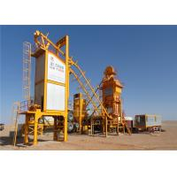 China 120 ~ 160t / H Mobile Asphalt Mixing Plant Compact Structure Modular Design on sale