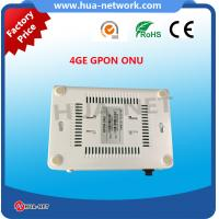 Quality HZW-G804 1GE 4FE GPON ONU fully compatibility with OLT based on Broadcom/Huawei for sale