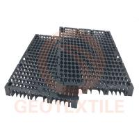 Drain Cell Geocomposite Drainage Net High Strength HDPE Black 400mm*400mm*30mm Manufactures