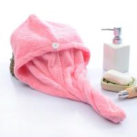 12 Colors Microfiber Hair Dry Towels Velour Printed Border And Customized Size Manufactures