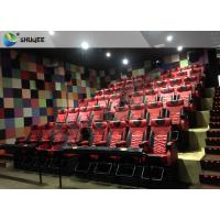 4D 5D Movie Theater with Bubbles / Wind / Snow / Smoke/ Fog Effect Manufactures