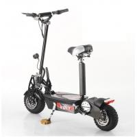 140mm Disc Brakes Front / Rear 36V Folding Electric Scooter Bike 1000w Manufactures