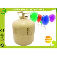 Steel Disposable Balloon Helium Tank Eco Friendly With 22L / 13L Manufactures