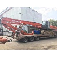 Low Noise Excavator Mounted Pile Driver , Hydraulic Pile Driving Equipment Manufactures