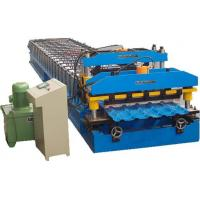 Hydraulic Power Automatic Metal Roofing Sheet Glazed Tile Making Machine 5 Ton Manual Decoiler Manufactures