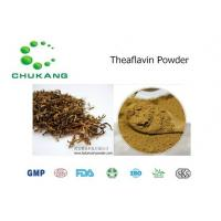 Cas  4670 05 7 Plant Extract Powder Theaflavin Anti Inflammatory Absorb Heavy Metals Manufactures