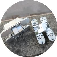 invisible hinge 3d Zamac invisible hinge 180 degree adjustable hinges Manufactures