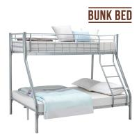 China Modern Furniture Iron Bunk Beds High Load Carrying Strength Powder Coat Finish on sale