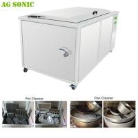 Deep Hot Water Ultrasonic Cleaning Machine for Catering Mobile Cleaning Services with Casters Manufactures