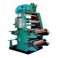 China 2 Color Flexo Printing Machine Accurate Registration / Clear Printing on sale