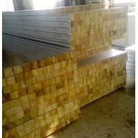 China Glass Wool Insulated Roof Panels Foam Insulation Panels 80Mm Thickness on sale