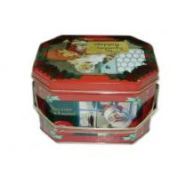 Customized Metal Octagon Box For Gift Packing , Food Grade Octagon Gift Box Manufactures
