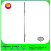 wrought forged iron  baluster for iron garden fence Manufactures