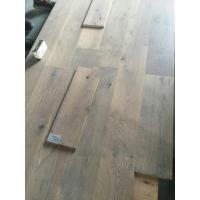 Gray Oak Engineered Wood Flooring with smoked and brushed finishing Manufactures