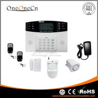 China Remote Control GSM Security Alarm Systems Home Anti - Pets on sale