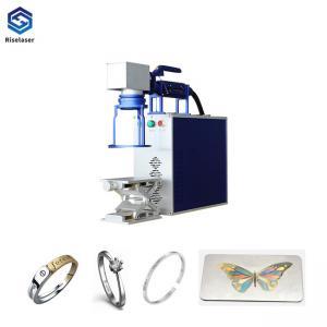 China Portable Metal Fiber Laser Engraving Machine Laser Marking Machine on sale