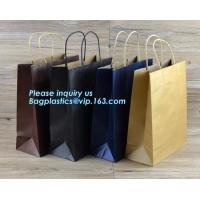 Portable Promotional Custom Packaging Bag Grocery Paper Bag Handle,eco friendly newest luxury wedding dress paper bag Manufactures